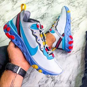 Nike React Element 55 Mystic Blue Sneaker
